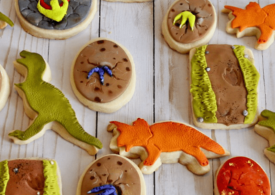 Dino lover cookies