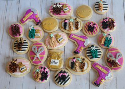 Hair Salon Cookies