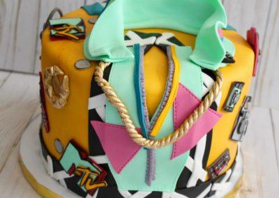 80s/90s cake