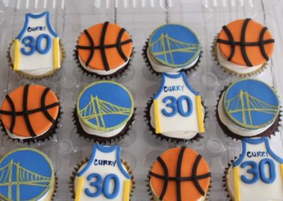 Golden State cupcakes