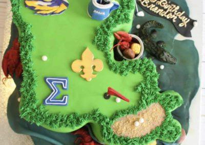 Custom favorite things Cake