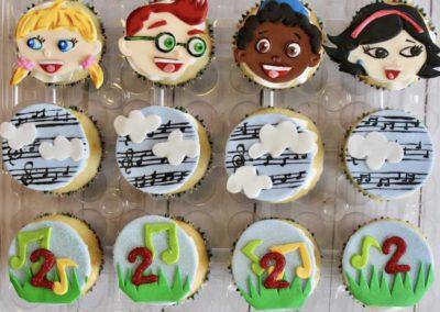 Little einsteins cupcakes
