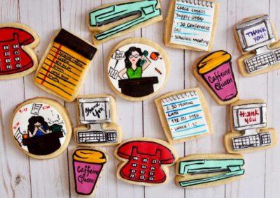 Working Woman Cookies