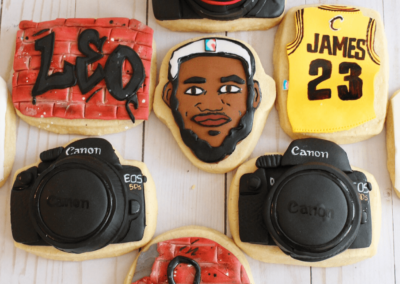 Lebron and Canon Favorite things cookies set