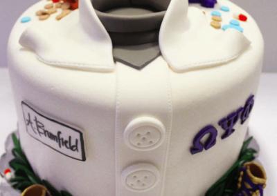 Omega psi phi Pharmacy cake