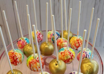 Water Color Cake Pops